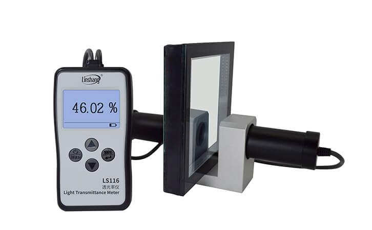 透光率测试仪测试厚玻璃