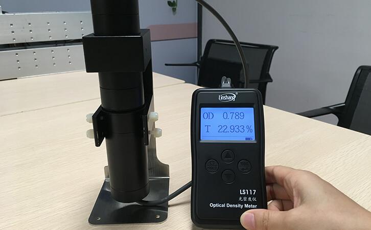 透光率测试仪测试氧化锆