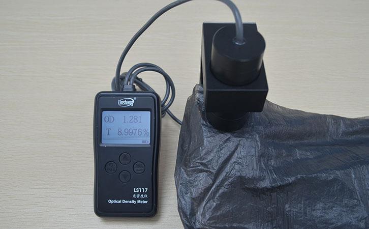 透光率仪LS117测试黑色遮光膜