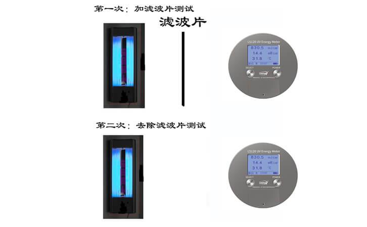 UV能量测试仪计量方法