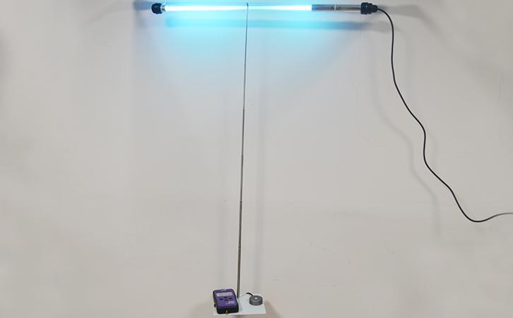 紫外辐照计应用于食品厂杀菌灯的检测