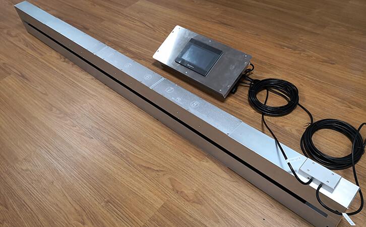 定制案例一:真空镀膜在线测试仪搭配浙江宇狮实力