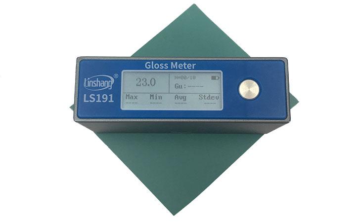光泽度仪测量界面