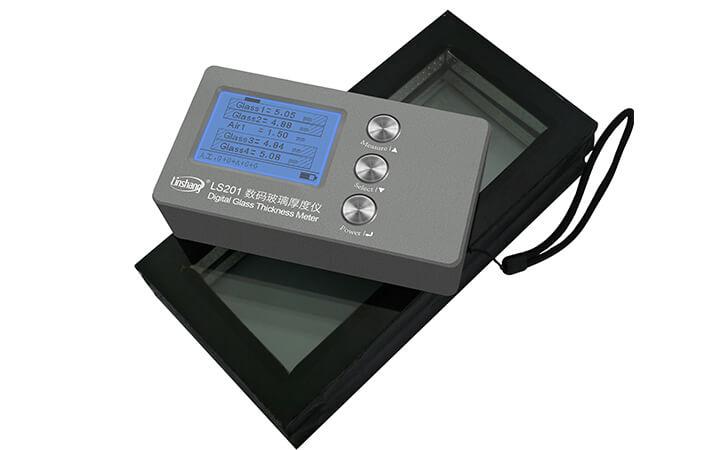 测量Low-E玻璃厚度的方法-数码玻璃厚度仪