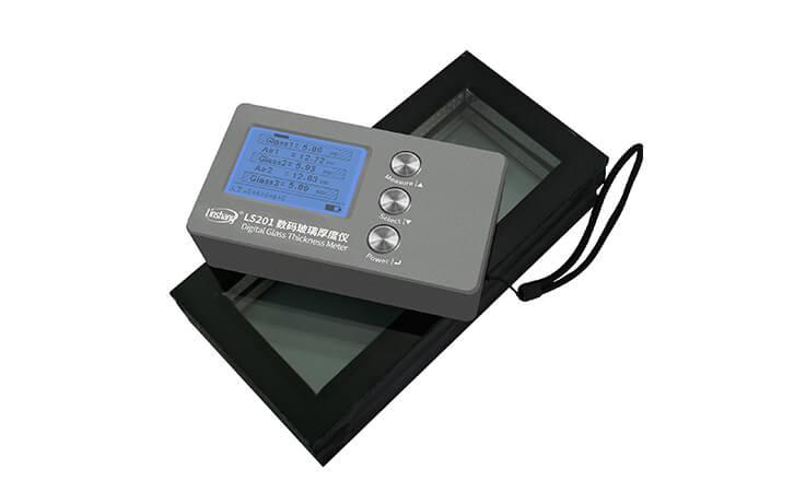 操作更简单的高精度数码玻璃厚度仪
