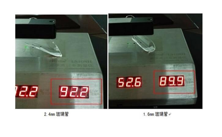 透过率测试仪实测