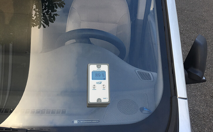 汽车玻璃透光率仪