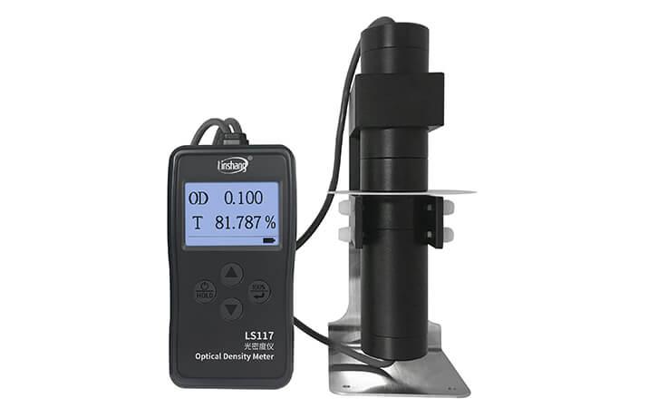 LS117透光率测试仪测试乳白材料
