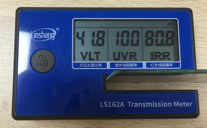 汽车贴膜的好处以及太阳膜测试仪的使用