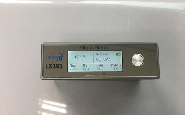 塑料光泽度计检测塑料