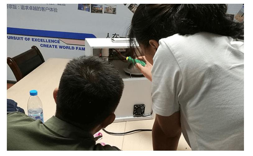 隔热膜温度测试仪LS300客户改制问题