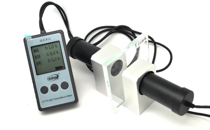 透光率测试仪测量亚克力透光率
