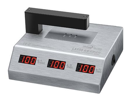 LS108蓝紫光测试仪通过自校准
