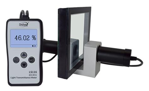 LS116透光率仪测试大厚度玻璃