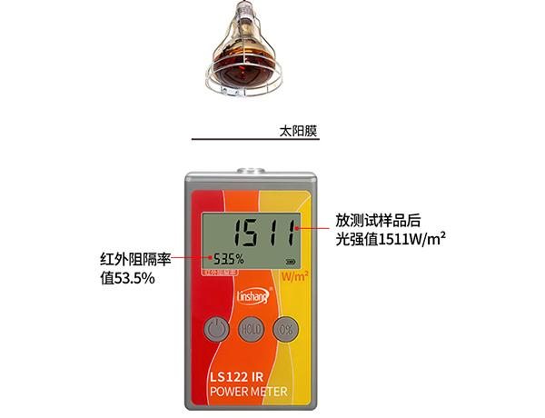LS122红外线能量接收仪测阻隔率