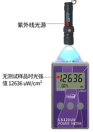 LS122便携式紫外功率计测光强