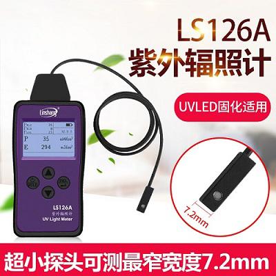 LS126A超小紫外线辐射照度计展示