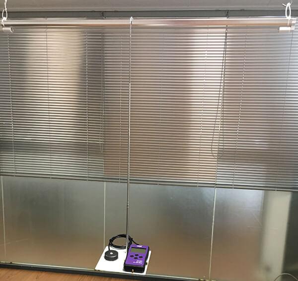 LS126C紫外线强度检测仪测量展示
