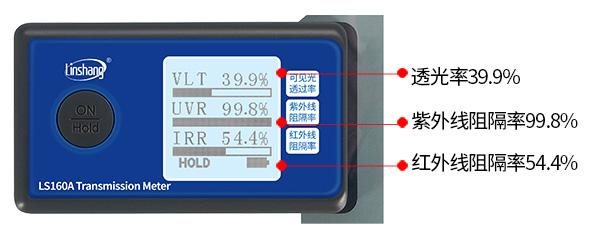 LS160A太阳膜抗紫外线测试仪测薄膜