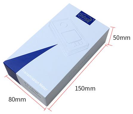 LS160便携式太阳膜测试仪包装盒展示