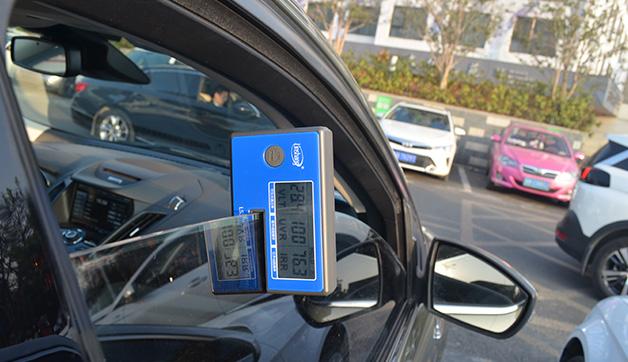 LS162A便携式太阳膜隔热检测仪测汽车侧挡