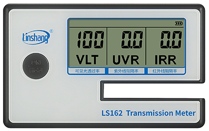 LS162建筑膜测试仪原始数据状态