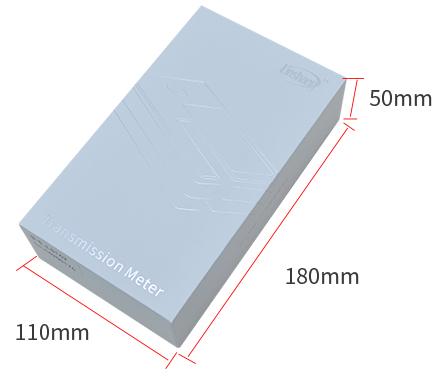 LS162便携式太阳膜测试仪包装盒展示