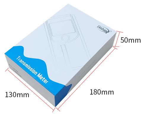 LS163A太阳膜测试仪包装盒展示