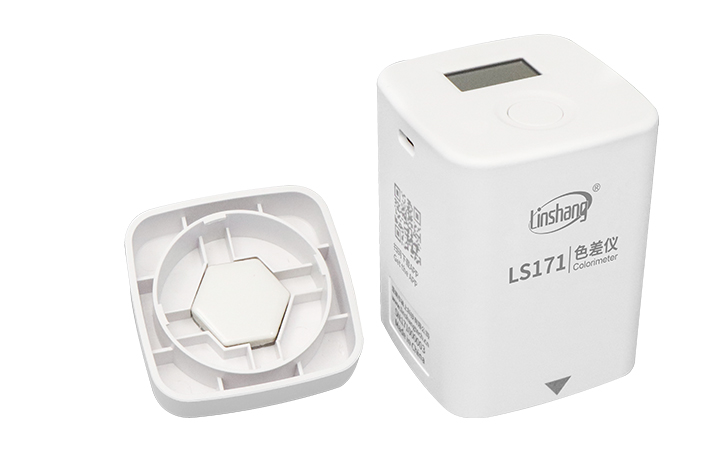 LS171色差测试仪内置校准白板