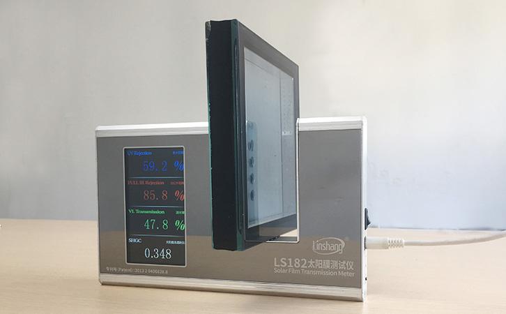 贴膜和涂膜玻璃的隔热效果好吗?玻璃膜检测仪可检测