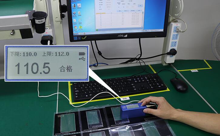 LS192光泽度仪QC测量模式