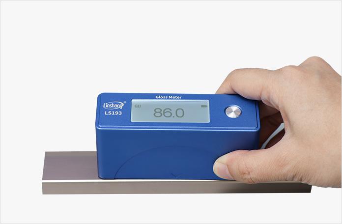 LS193光泽度仪测金属