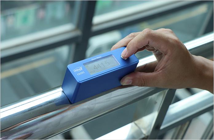弧面材料光泽度测量