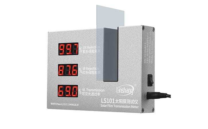 建筑膜透光率测试仪实测
