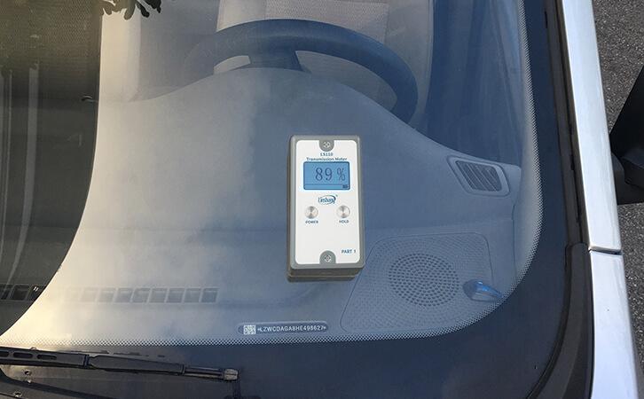 分体式透光率仪现场测量
