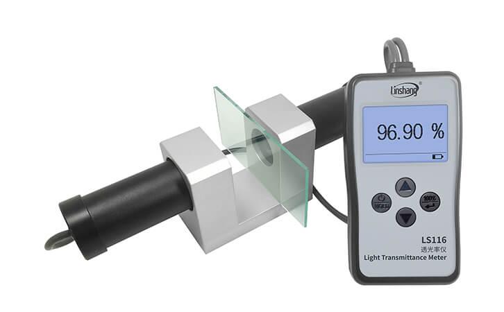 透光率计实测高透光材料