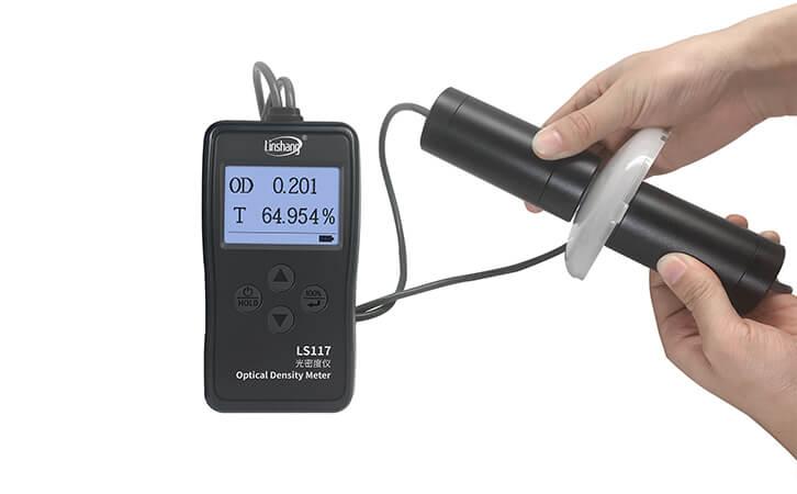 乳白材料透光率测试仪