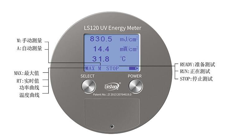 UV能量计实测