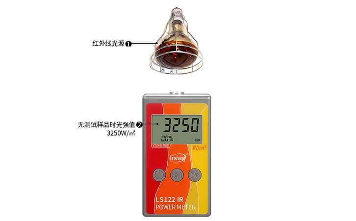 红外功率计光源强度检测