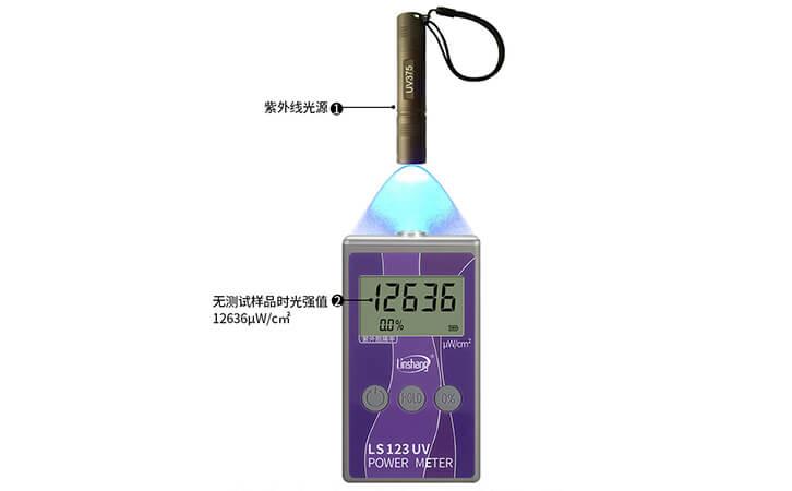 紫外功率计检测光源辐照检测强度
