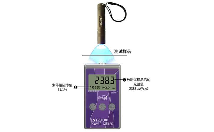 紫外功率计检测材料阻隔率