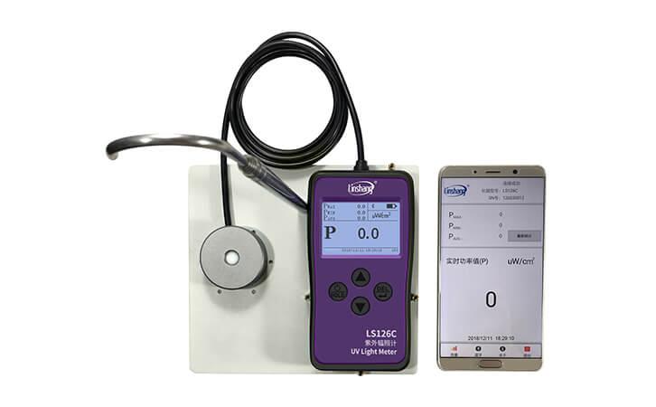 紫外线强度检测仪手机APP功能