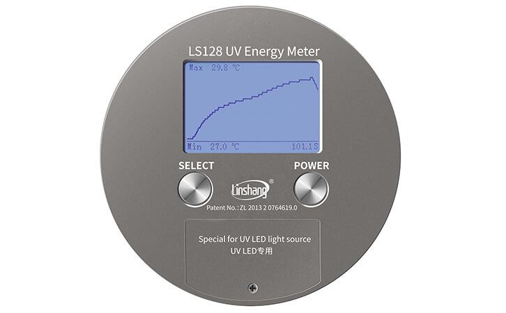 UV能量计温度曲线