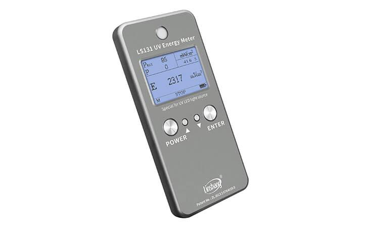 紫外线能量表停止测试界面