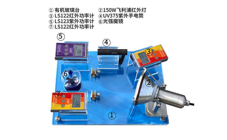太阳膜反射测试仪组成