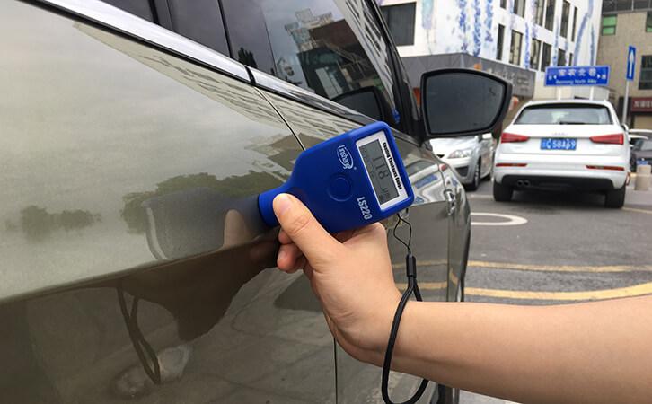 漆膜仪测试汽车漆面厚度
