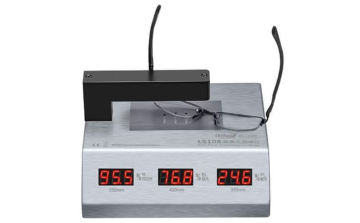 LS108眼镜镜片蓝紫光测试仪
