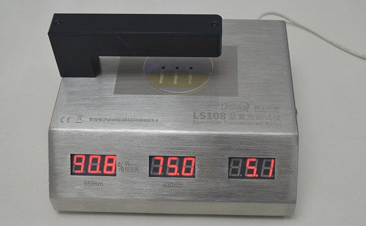 眼镜透光率测试仪