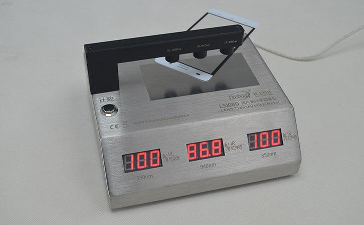 手机玻璃盖板透光率测试仪