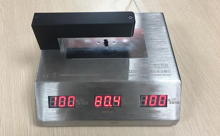 LS108H光学透过率测量仪测试滤光条